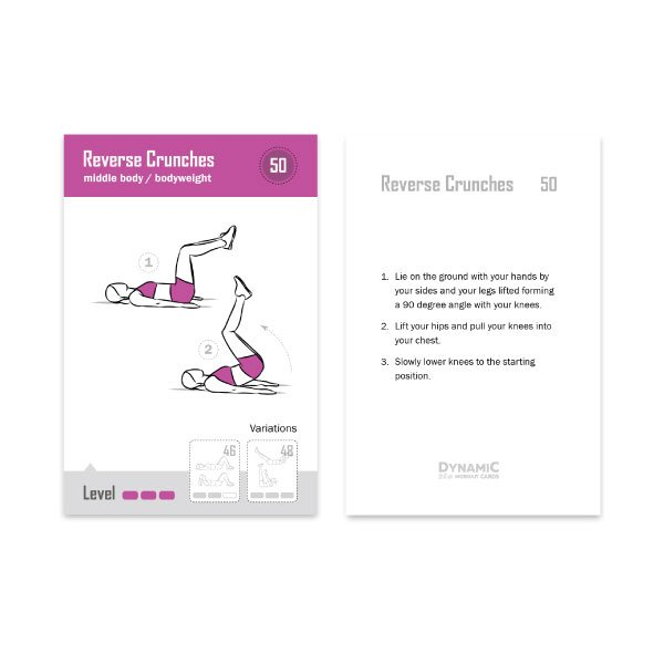 Weight Loss Exercise Routine Product Woman Cards