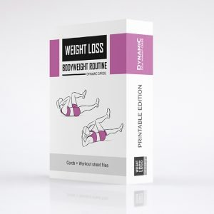 Weight Loss Exercise Routine Product Woman